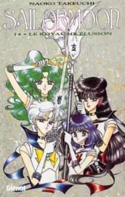 Couverture Sailor Moon, tome 14 : Le royaume Elusion