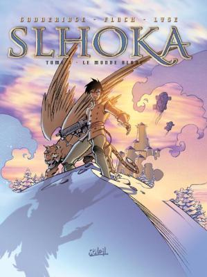 Couverture Slhoka, tome 3 : Le monde blanc