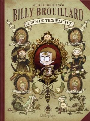 Couverture Billy Brouillard, tome 1 : Le don de trouble vue