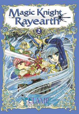 Couverture Magic Knight Rayearth, tome 2
