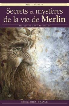 Couverture Secrets et mystères de la vie de Merlin
