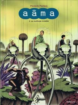 Couverture Aâma, tome 2 : La multitude invisible