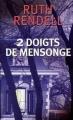 Couverture Deux doigts de mensonge Editions France Loisirs 2008