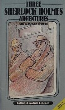 Couverture Three Sherlock Holmes Adventures (abrégé)
