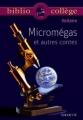 Couverture Le monde comme il va, Micromégas, Jeannot et Colin Editions Hachette (Biblio collège) 1999