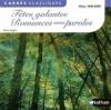 Couverture Fêtes galantes, Romances sans paroles Editions Nathan (Carrés classiques) 2011