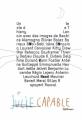 Couverture Julie capable Editions Samoa 2012