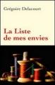 Couverture La Liste de mes envies Editions France Loisirs 2012