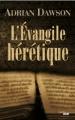 Couverture L'Évangile hérétique Editions Cherche Midi 2012