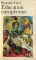 Couverture Education européenne Editions Folio  1972