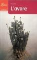 Couverture L'Avare Editions Librio (Théâtre) 2009