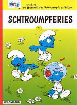 Couverture Schtroumpferies, tome 1