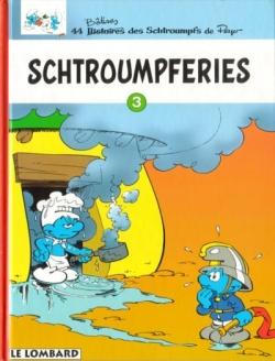 Couverture Schtroumpferies, tome 3