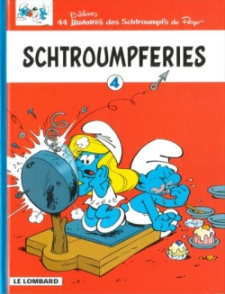 Couverture Schtroumpferies, tome 4