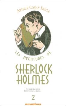 Couverture Les aventures de Sherlock Holmes (Omnibus), tome 2