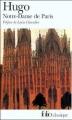 Couverture Notre-Dame de Paris Editions Folio  (Classique) 2002