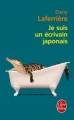 Couverture Je suis un écrivain japonais Editions Le Livre de Poche 2012