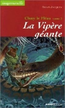 Couverture Rougemuraille : Cluny le fléau, tome 3 : La vipère géante