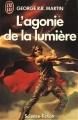 Couverture L'agonie de la lumière Editions J'ai Lu (Science-fiction) 1989