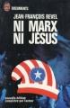 Couverture Ni Marx ni Jésus Editions J'ai Lu (Document) 1973