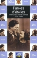 Couverture Paroles d'étoiles, mémoire d'enfants cachés 1939-1945 Editions Librio 2002