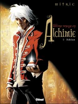 Couverture Ultime voyage en Alchimie, tome 1 : Adrian