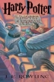 Couverture Harry Potter, tome 3 : Harry Potter et le prisonnier d'Azkaban Editions Scholastic 1999