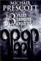 Couverture 3 villes, 3 sadiques, 3 enquêtes Editions J'ai Lu 2012