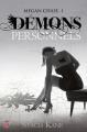 Couverture Megan Chase, tome 1 : Démons personnels Editions J'ai Lu (Darklight) 2013