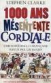 Couverture 1000 ans de mésentente cordiale Editions NiL 2012