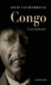 Couverture Congo : Une histoire Editions Actes Sud 2012