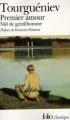 Couverture Premier Amour, Nid de Gentilhomme Editions Folio  (Classique) 2009