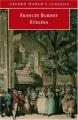 Couverture Evelina Editions Oxford University Press (World's classics) 2002
