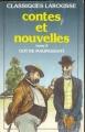 Couverture Contes et nouvelles, tome 2 (Larousse) Editions Larousse (Classiques) 1991