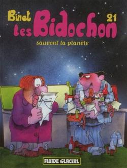 Couverture Les Bidochon, tome 21 : Les Bidochon sauvent la planète