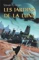 Couverture Le livre des martyrs (10 tomes), tome 01 : Les jardins de la lune Editions Buchet/Chastel (Fantasy) 2001