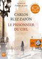 Couverture Le prisonnier du ciel Editions Audiolib 2012