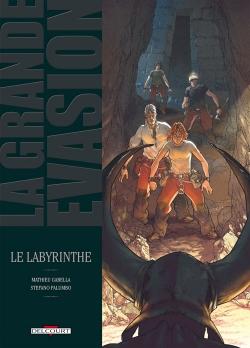 Couverture La grande évasion, tome 2 : Le labyrinthe
