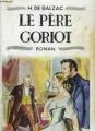 Couverture Le Père Goriot Editions des trois pommiers 1954