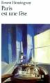Couverture Paris est une fête Editions Folio  2011