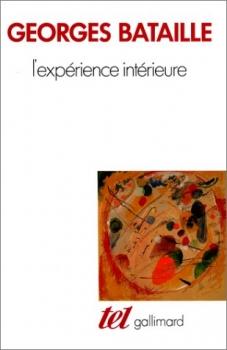 Couverture L'expérience intérieure