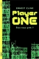 Couverture Player one Editions Michel Lafon 2013