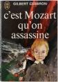 Couverture C'est Mozart qu'on assassine Editions J'ai Lu 1972