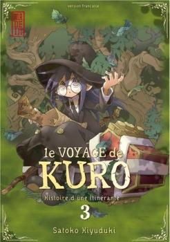 Couverture Le voyage de Kuro, tome 3