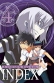 Couverture A certain magical Index, tome 04 Editions Ki-oon 2012