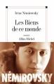Couverture Les biens de ce monde Editions Albin Michel 2005