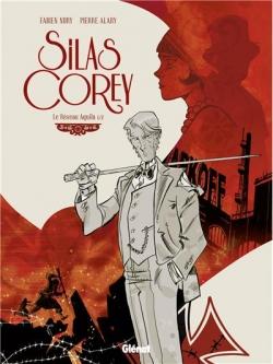 Couverture Silas Corey, tome 1 : Le réseau Aquila, partie 1