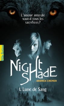 Couverture Nightshade, tome 1 : Lune de Sang