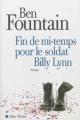 Couverture Fin de mi-temps pour le soldat Billy Lynn Editions Albin Michel (Terres d'Amérique) 2013