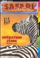 Couverture Opération zèbre Editions Folio  (Junior) 2000